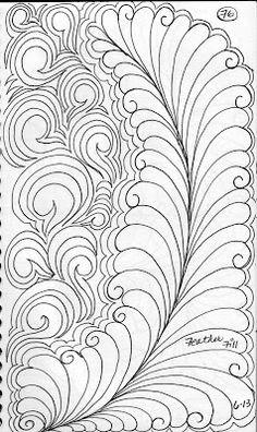 LuAnn Kessi: Quilting Sketch Book... tutorial