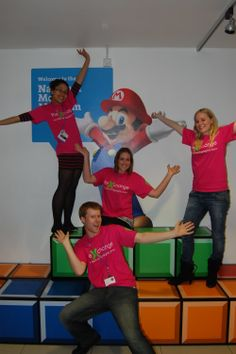 Dec 6 Volunteers working on the x-change at the British Science Festival 2011. During the Festival they got to meet a host of famous scientists and engage with a diverse audience. #science #volunteering #charity