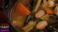 Celebrate with @Fabio Viviani's MINESTRONE for National Homemade Soup Day, Meatless Monday, or just because it's cold!        Full Episode: http://yhoo.it/TAaWDj  Text Recipe: http://yhoo.it/VFvPPE