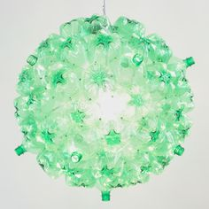 Bubble Chandelier Green White, $655, now featured on Fab.