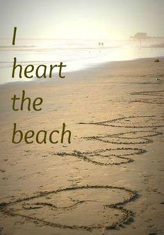 I heart the beach!