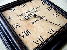 Love this clock and lots of her ideas!!