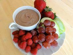 Greek Yogurt and Nutella Fruit Dip