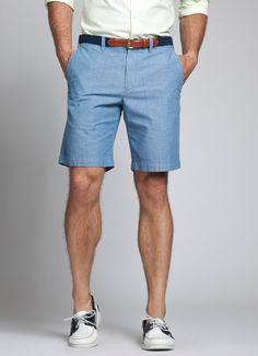 Chambrebros - Summer Blue Chambray Shorts