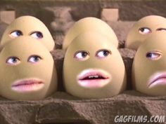Silly funny, Screaming Eggs