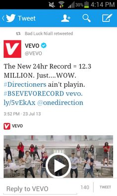 WHOOP WHOOP THAT'S WHAT I'M TALKING ABOUT!!!! When our family of Crazy Mofos set our mind on doing supin espicaly for our boys you know it will get done. We weren't going to just settle for beating the record but setting a new world record!Look at the power we have!!We can do anything!! #CrazyMofosAreUnstoppable #AllForOurBoys #DirectionersFlackingRock