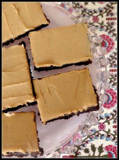 Brownies with PB frosting- Done