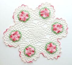 Crochet Doily by Vintage To Live By