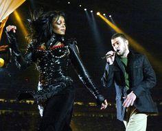 Janet Jackson and Justin Timberlake - Super Bowl XXXVIII (2004). Theme: Rock the Vote