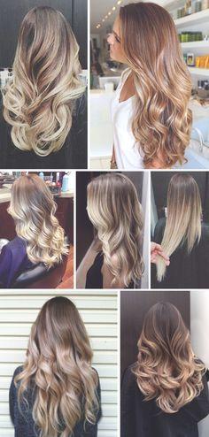 Ombre hair ideas