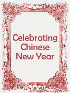 Celebrating Chinese New Year With Kids {Something to Read}