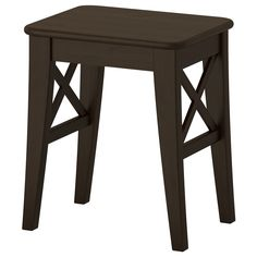 INGOLF Stool - brown-black - IKEA