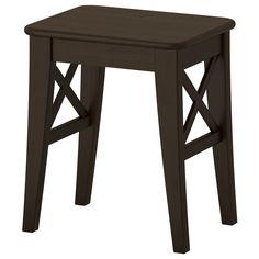 INGOLF Stool - brown-black - IKEA