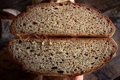 Tartine Bread Experiment: Wheat-Rye 10%