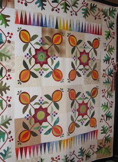 Anniversary Quilt by Mellicious, via Flickr