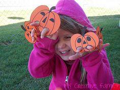 Five Little Pumpkins Finger Puppets... ~ Creative Family Fun