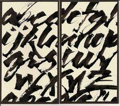 calligraphy / Jane Farr