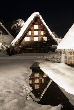 Winter  ~  Shirakawa village, Japan