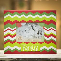 Glory Haus Family Christmas Frame