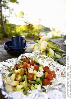 Healthy Camp Fire Recipes | These are awesome because I love camping!