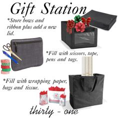 Gift Station... Thirty One Gifts | For More Information contact me at www.thirtyone.com/fant