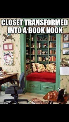 Book nook!!!