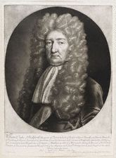 William Russell, 1st Duke of Bedford KG PC (August 1613 – 7 September 1700) was an English politician who sat in the House of Commons from 1640 until 1641 when he inherited his Peerage and sat in the House of Lords. He fought in the Parliamentarian army during the English Civil War.