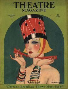 1923 Art Deco Gal's