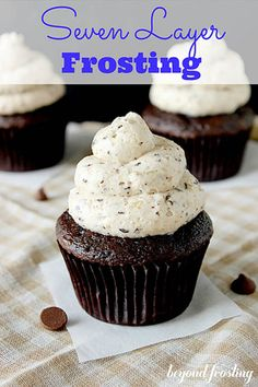 Seven Layer Bar Frosting by Beyond Frosting