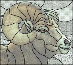 merino sheep sg pattern, stainr glass, design patterns, glass anim, stain glass, stained glass