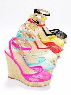 The Lacie Wedge Sandal - VS Collection - Victoria's Secret