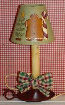 Create A Gingerbread Lamp