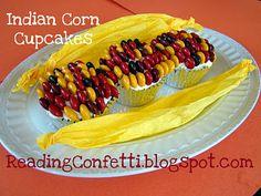 Indian Corn cupcakes...