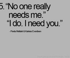 Peeta and Katniss.