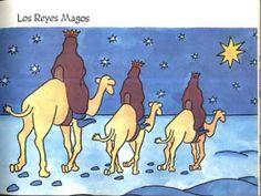 Historia de los Reyes Magos para niños. @Galle de