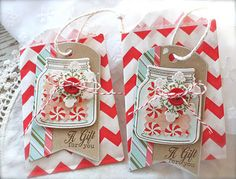 Christmas packaging by Michelle Wooderson