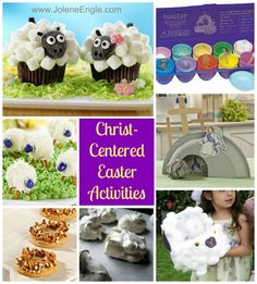 Christ centered Easter activities from Jolene Engle on The Alabaster Jar