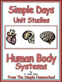 Anatomy Unit Study Materials - lesson plans, worksheets, videos, games....