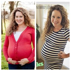 Eating clean during pregnancy makes a huge difference! The picture on the left was when I was pregnant with my son 2.5 years ago at 32 weeks. The picture on the right is this pregnancy at 32 weeks!! Follow my journey at wholefoodsnewbody.com!