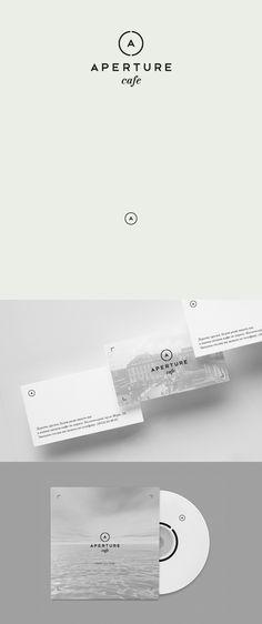 Aperture, Identity, Branding, Brand, Logo, Business Card