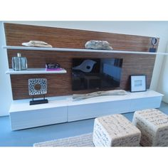 Modern Dollhouse Furniture | M112 PODS | Soho Entertainment Unit by Paris Renfroe Design