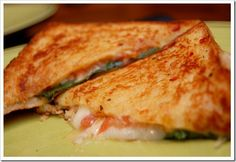 italian grilled cheese soup-sandwich