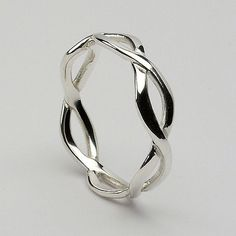Aednat Infinity Knot Band (C-9) - Celtic Wedding Rings