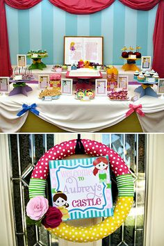 {Storybook Inspired} Colorful Princess Party