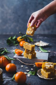 Orange Almond Fudge
