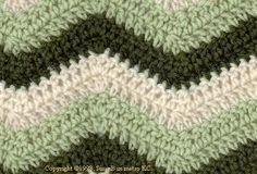 """easy"" ripple afghan - crochet"