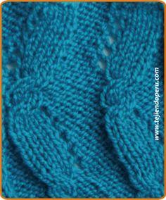 de aguja, punto dos, dos aguja, tejido dos, punto de, knit pattern, puntada de