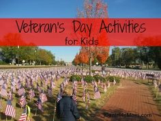 Veteran's Day Activities for Kids from @Justine Daniels's Mom