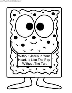 Poptart Printable Cutout Template Coloring Page for kids Preschool kindergarten 2.png (816×1056)