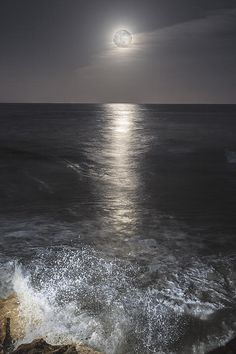 Crashing With The Moon Photograph by Bryan Toro - Crashing With The Moon Fine Art Prints and Posters for Sale